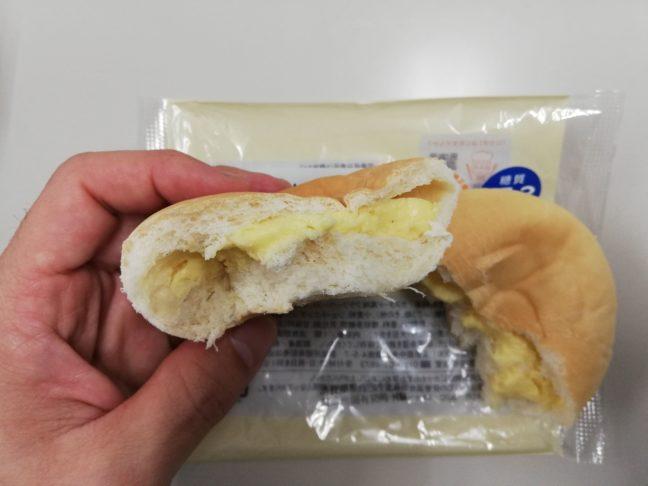 クリームパンの中身画像
